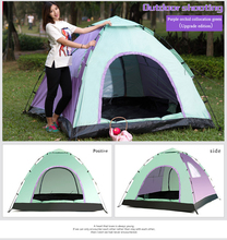 Wholesale Outdoor portable folding permanent waterproof easy set up camping tent