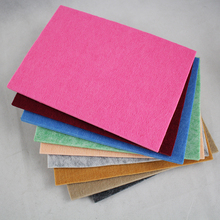 Non Woven Polyester Felt Customized Polyester Synthetic Felt