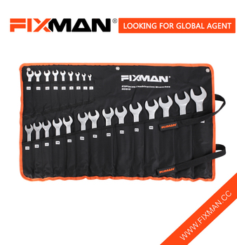2016 hot sale wrench set 23pcs combination wrench