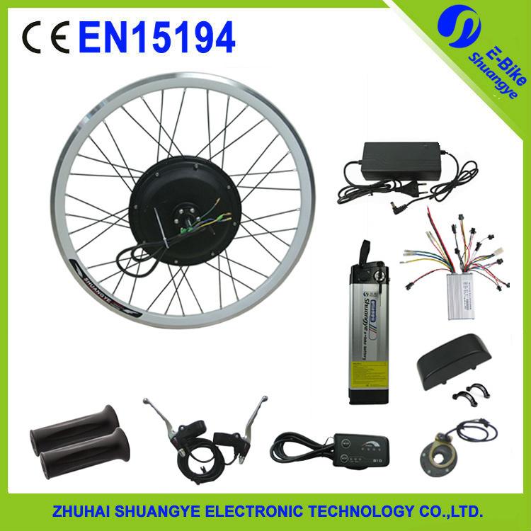 500w diy ebike electric bicycle motor conversion kit with for Diy electric motor repair