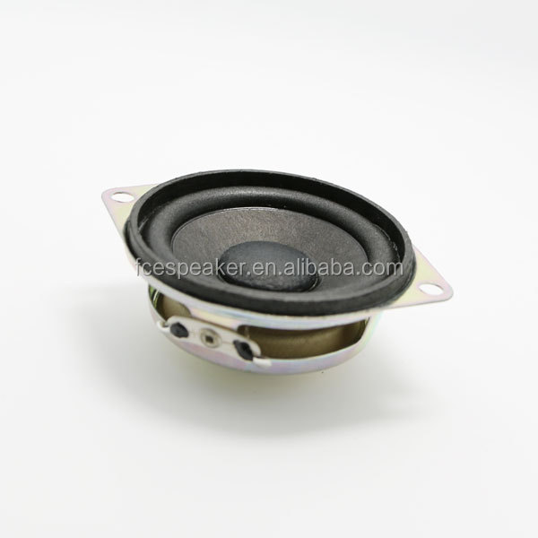 2inch 8ohm 2W super woofer speaker for audio player