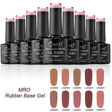 pure color UV rubber base gel polish Private Label Nail Polish Manufacturers