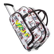 Portabale classic trolley luggage bag big size sport travel trolley bag