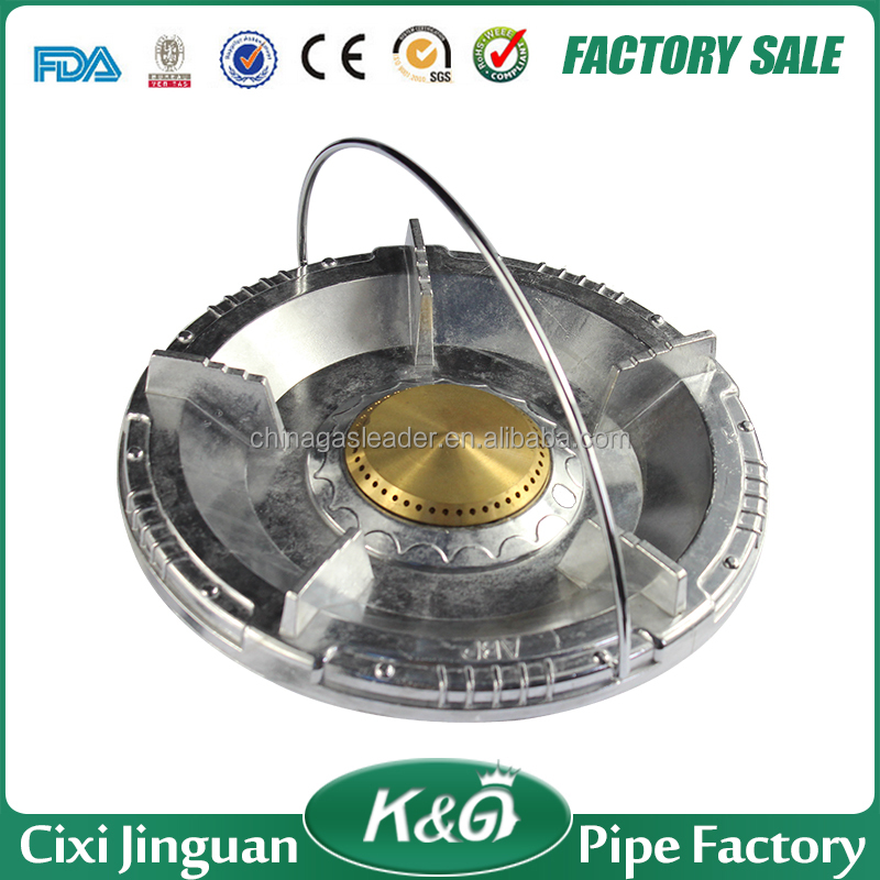 CIXI JINGUAN super flame gas stoves, Aluminum cooktops gas stove in Africa, America, single burner lpg gas cooker