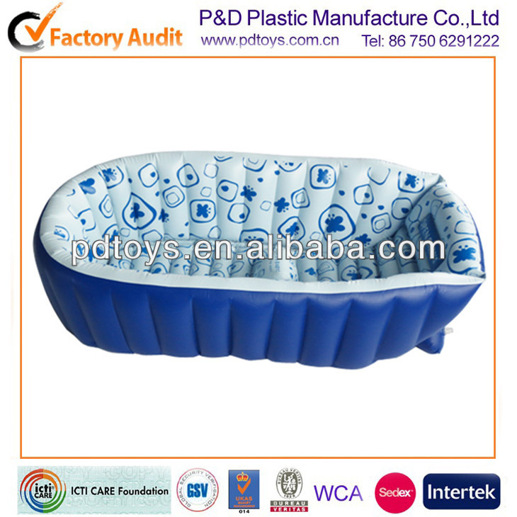 PVC Inflatable tub for baby bath