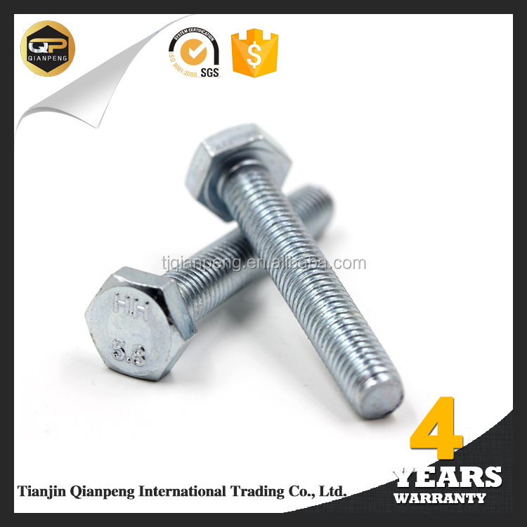 China top ten selling products din 933 hex bolt from alibaba trusted suppliers
