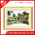 DIY needlework crafts 100% precise crosss-stitch for embroidery 47*32cm