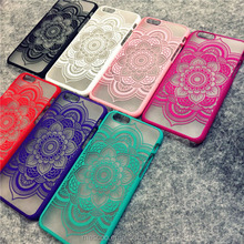 New Beautiful Floral Henna Paisley Mandala Palace Flower Phone Cases Cover For iPhone 5 5G 5S 6 6G 6S 4.7 6plus 5.5