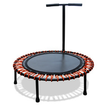 40inch Adult fitness round mini trampoline and rebounder trampoline with handle