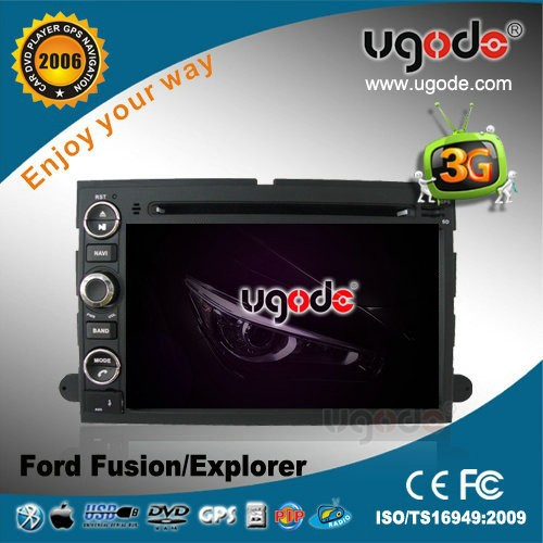 ugode 7 inch car stereo for Ford Fusion 2006-2009 with DVD GPS radio