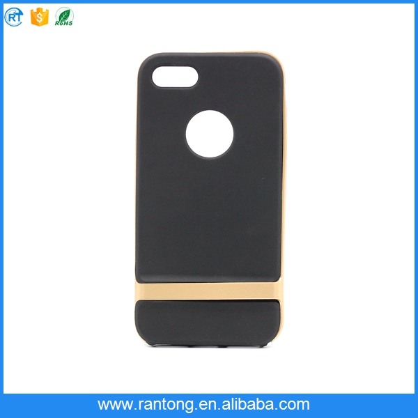 Wholesale PC Frame+TPU hybrid mobile phone case for iphone