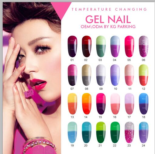 charm limit velvet nail polish cosmetic auctions temperature color changing gel nail polish