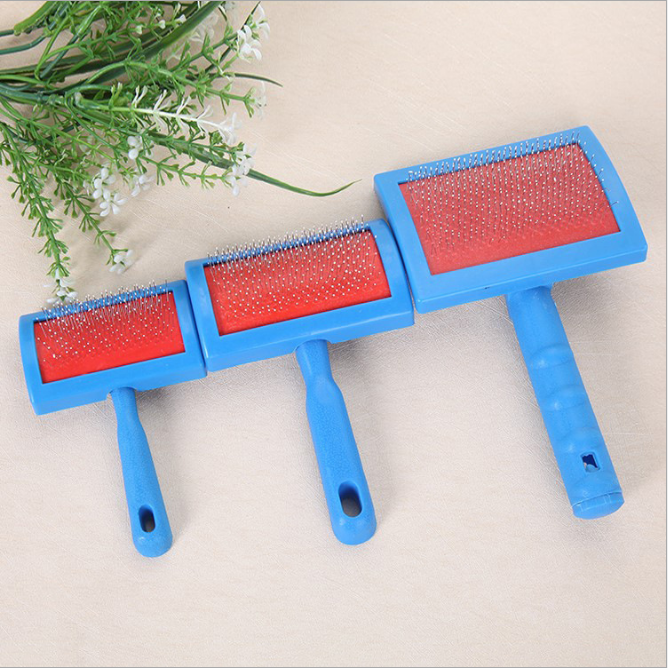 cheap price promotion pp eco-friendly pet grooming products pet clearning brush