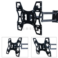 Television LCD LED Monitor Stand Full Motion TV Wall Mount Swivel Articulating Arm 22-50 Inches TV Mount