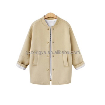 Wholesale cotton air layer fabric winter women wear jackets