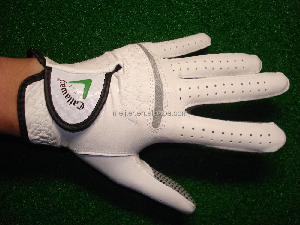 Wholesale ogo embroidery Customized golf gloves