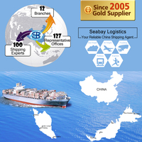 Sea/Ocean Freight Forwarding Services to Kuching, MY [DDP]