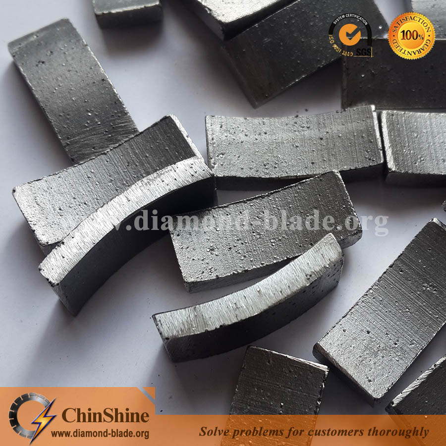 Wholesale good quality roof type diamond core drill bit segment for stone drilling