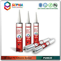 PU8635 high performance Odorless windshield repair adheisve pu automobile glass adhesive sealant
