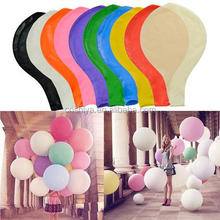 2017 Popular latex super 36 inches balloon,colorful big giant balloon on wedding