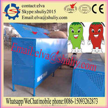 Automatic electric red chilli stem removing machine