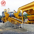 58-62t/h high-grade road machine asphalt mixing plant