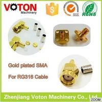 Free Sample satellite antenna Factory Price x video sma Plug RG316 connector