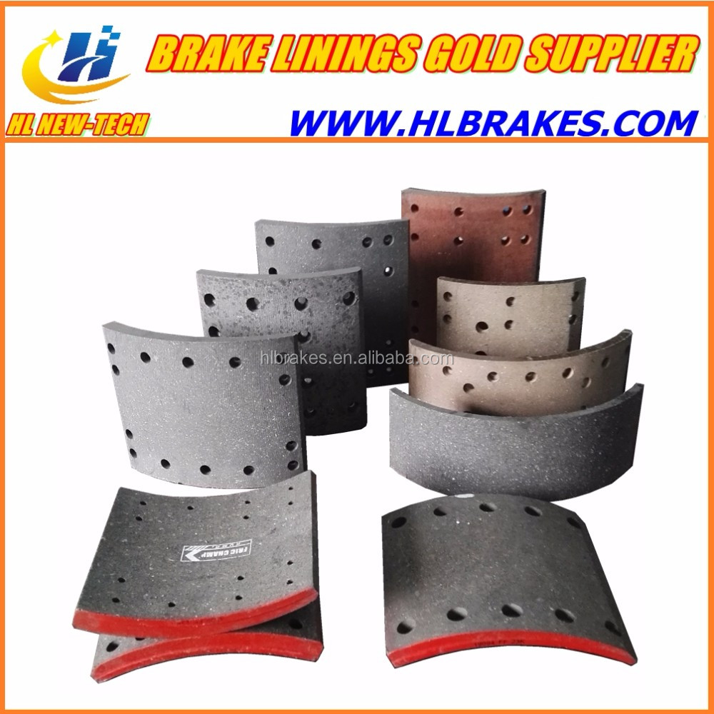 Auto Brake Lining for FAW truck parts FAW Front