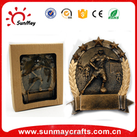 Wholesale custom resin trophies and medals china