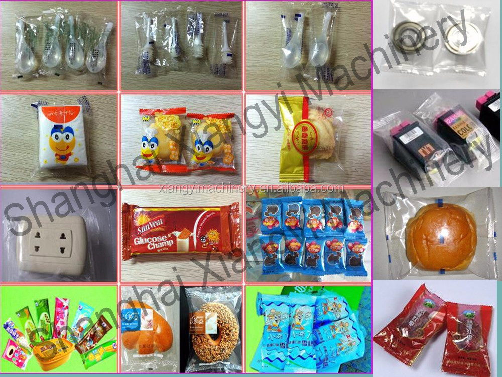 Food Factory Pillow Pack Horizontal Auto Bread Packaging Machine Price