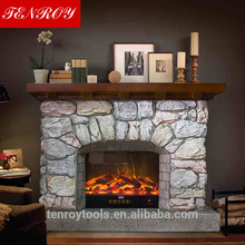 beautification butane hanging fireplace price made in China