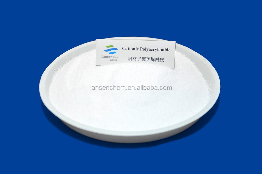 water- soluble high polymer PAM hot sale in China