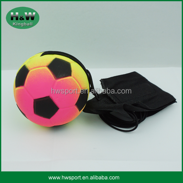 Wholesale rubber bounce wrist ball with band