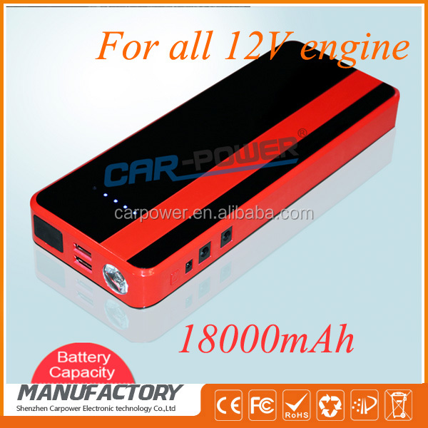 18000mah eps power jump starter car jumper