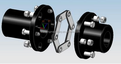 Types Of Shaft Rubber Diaphragm Coupling