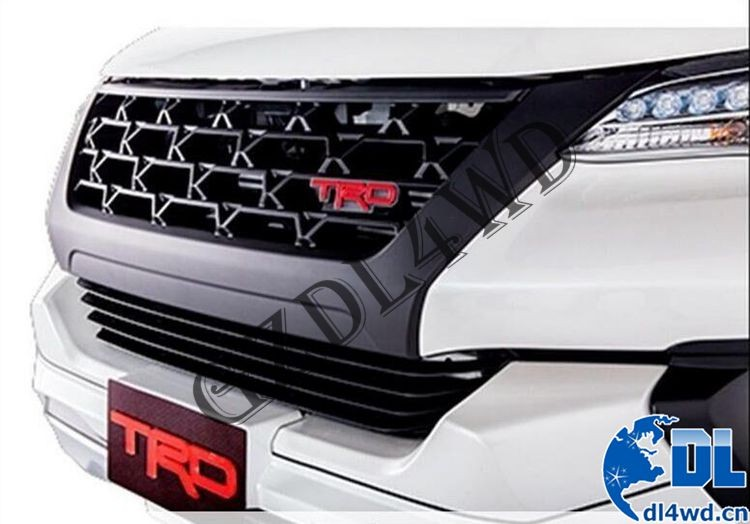 Fortuner Body Kit Car Front Grille For Toyota Fortuner Suv
