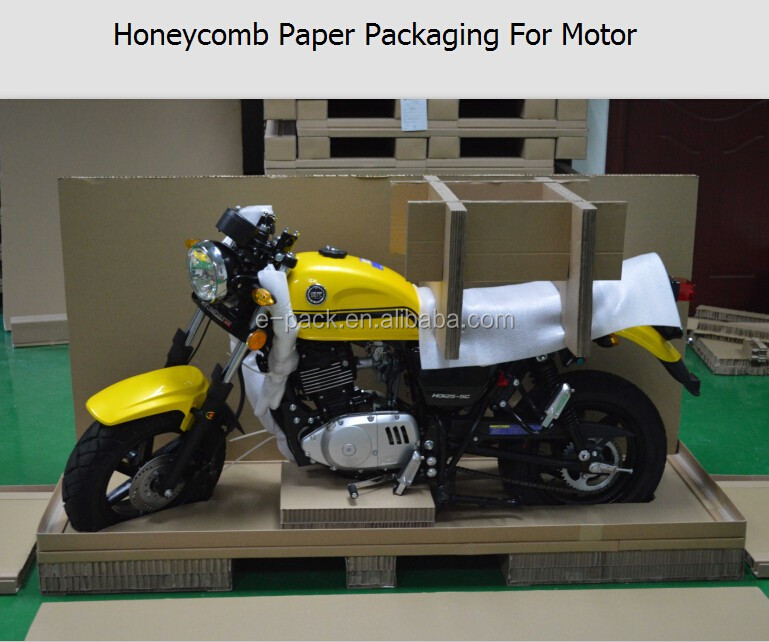 2016 hot sale new product customized paper box packaging for motor motorcycle