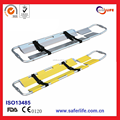 2017 High Quality For Ambulance Seperatable-Type Light-Weight Aluminum Alloy Foldaway Scoop Stretcher