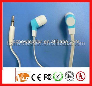 hot sell factory promotion earphones lower price clear designed for MP3MP4