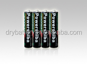 size aaa R03 um-4 1.5v carbon dry battery/4s dry cell battery