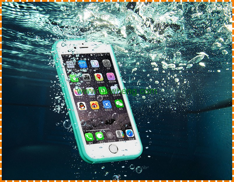 Wholesale Shockproof Dirtproof Durable Hybrid Rubber TPU Waterproof Phone case for iphone 7