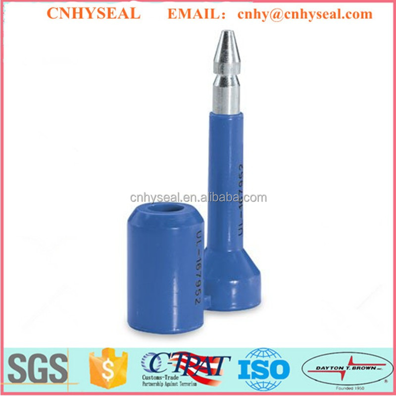 CH116 ISO17712 Plastic security bolt rfid seal