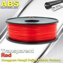 Quality red abs plastic filament wholesale online