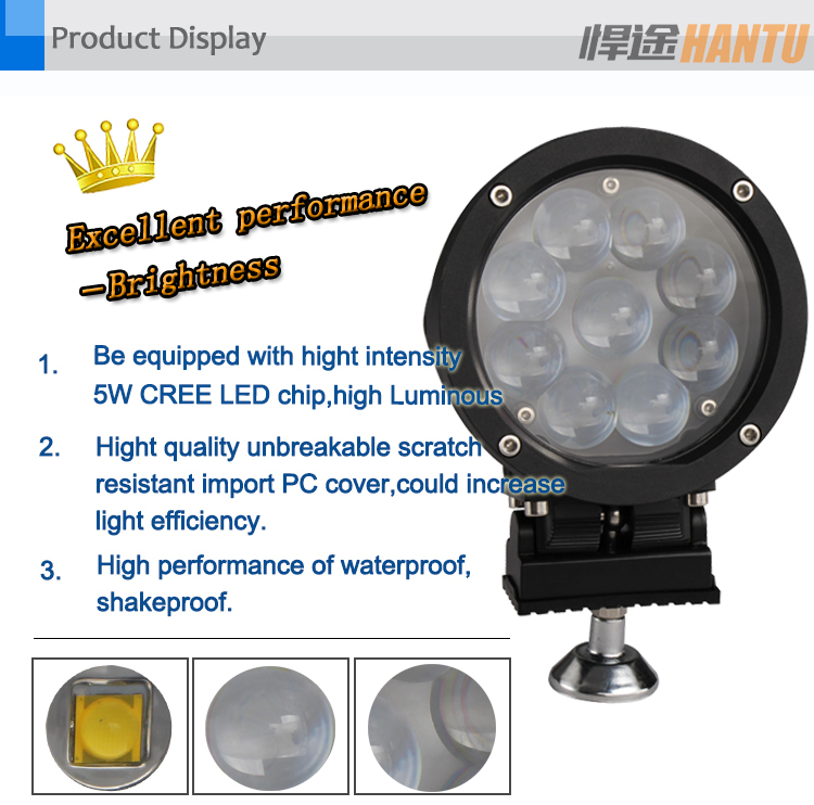 Super slim waterproof offroad 12 volt led work light