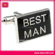 unique design zinc alloy cufflink for men's shirt