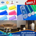 Hot sale round clear acrylic solid tube