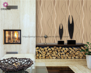 The most popular used for tv background wall vinyl modern wallpaper