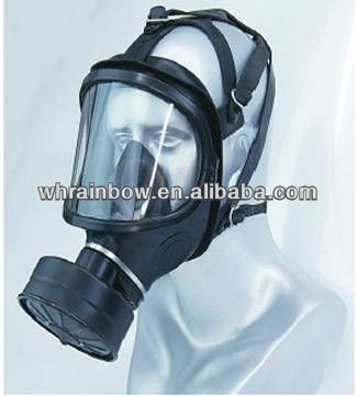 disposable full face gas mask