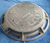 manhole cover for the road safety communication power supply