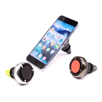 360 rotatable magnetic car phone holder freshen air perfume car phone holder